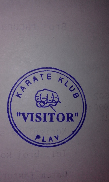 "Karate klub ""Visitor"" - Brezojevice, Plav"